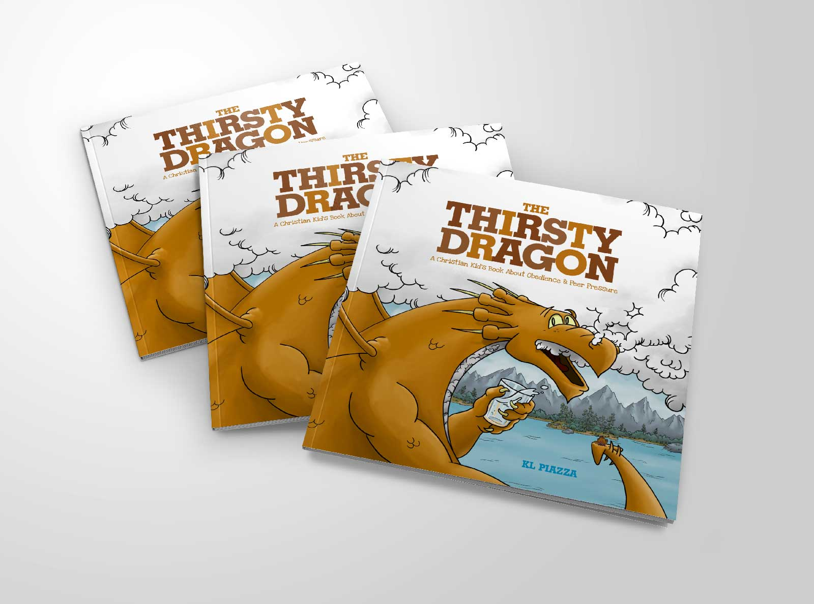 Kids' Book: The Thirsty Dragon