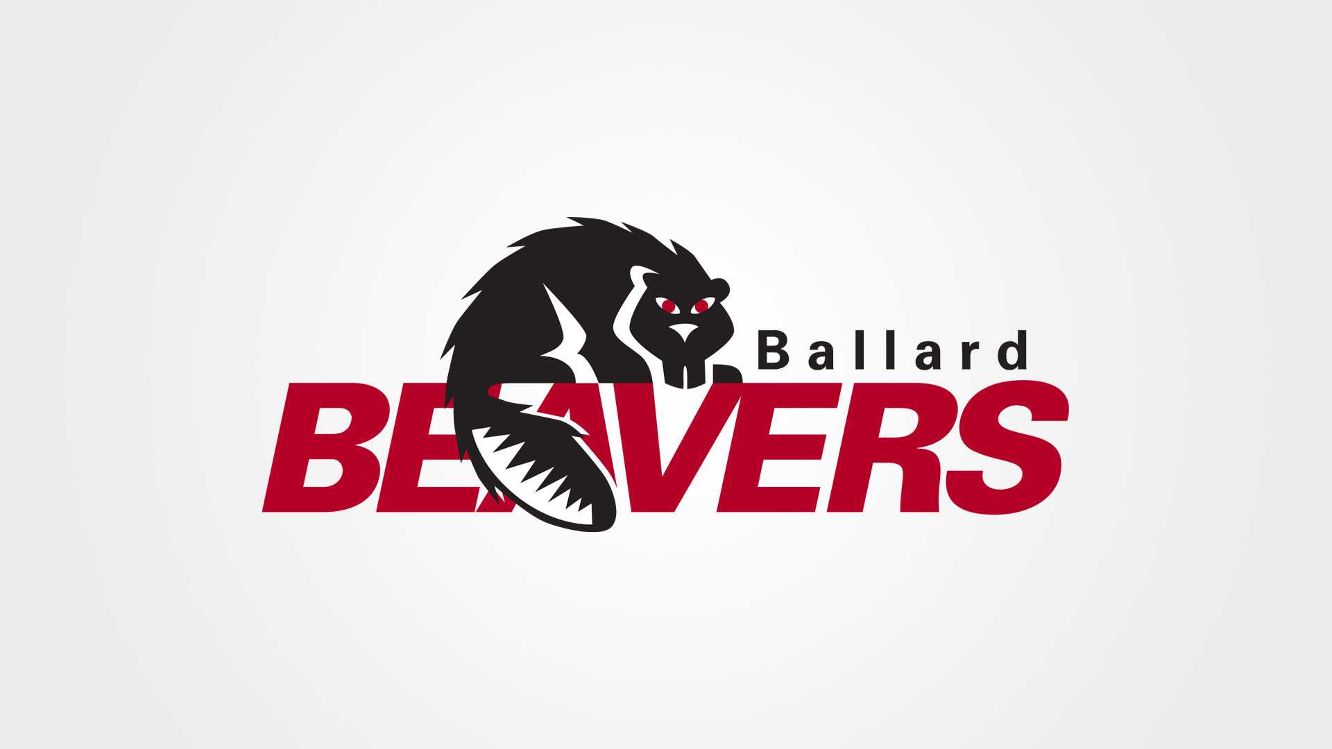 Ballard Beavers High School Seattle Logo Design