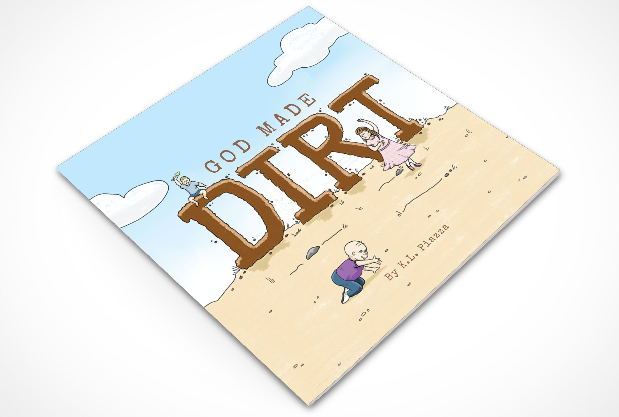 God Made Dirt by Doodl Book Design