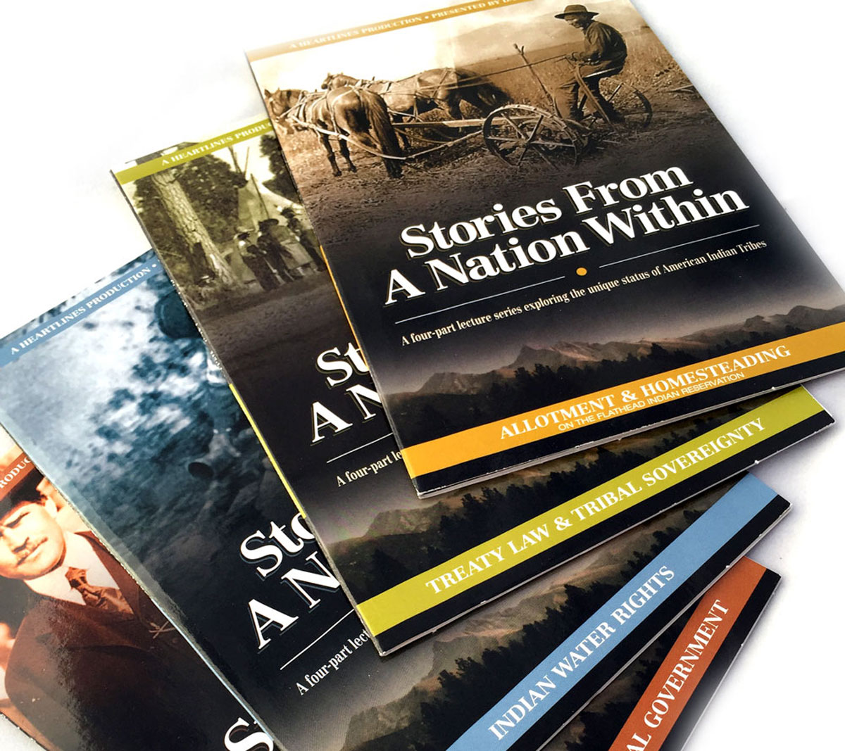 Heartlines Stories from a Nation Within DVD Packaging Design