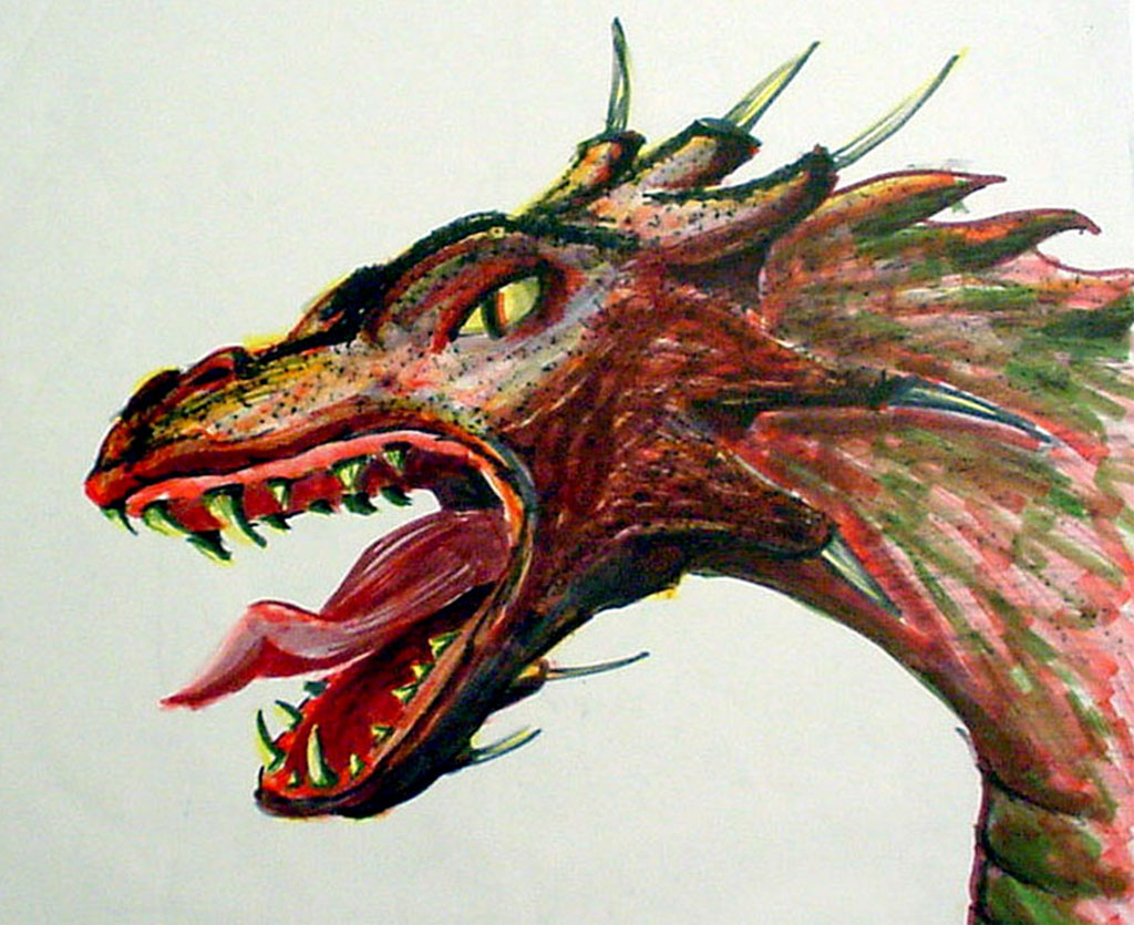Dragon Breath Illustration