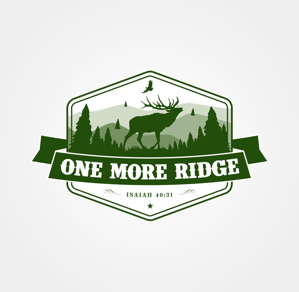 One More Ridge Elk Hunting Illustration