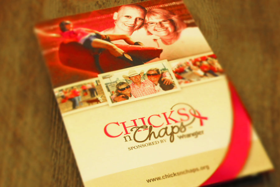Chicks n Chaps  Brochure Design Cover