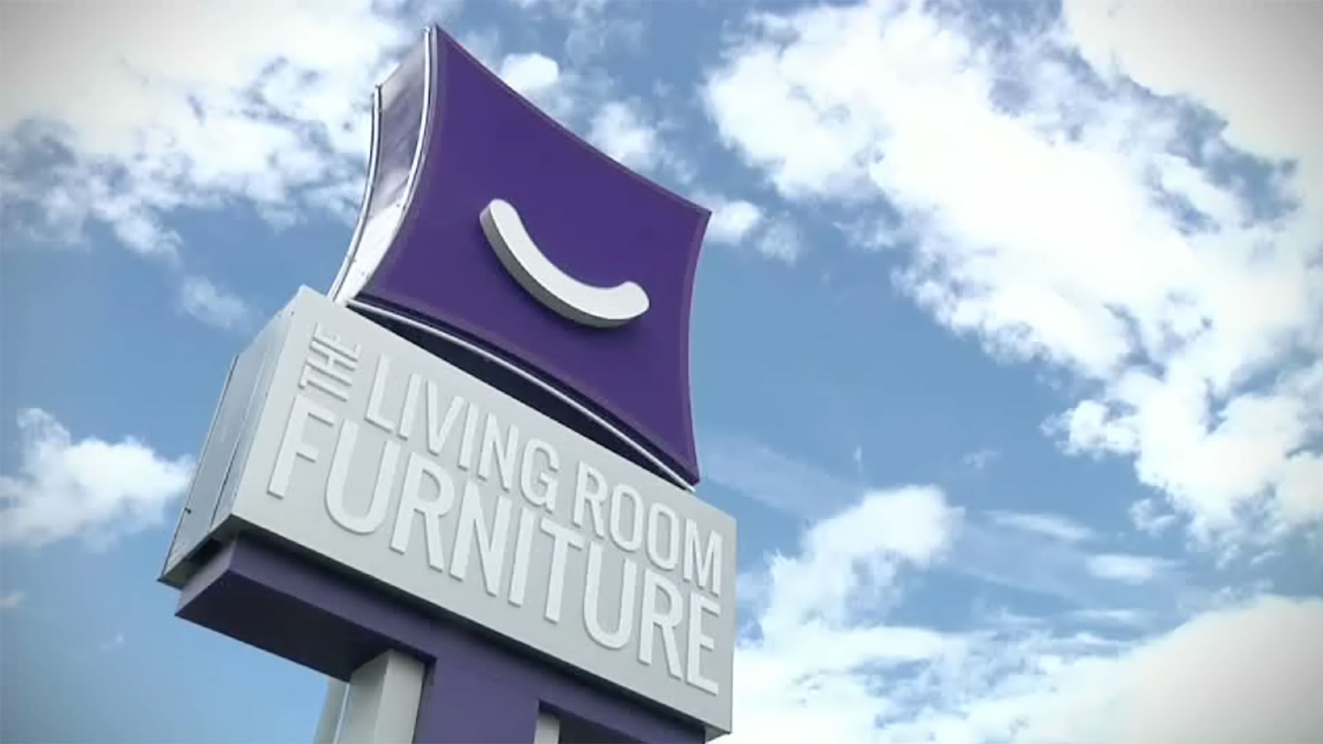 The Living Room Furniture Outdoor Sign